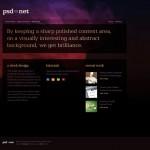 网页设计教程:使用Photoshop设计一个高档时尚的网页(1)
