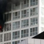 北京CBD核心区烧了,建外SOHO大楼起火