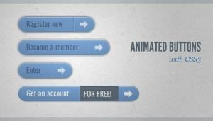 25 个实用的 CSS3 动画按钮/菜单教程