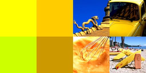 网页效果图设计之色彩索引