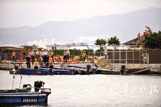 深圳海上皇宫东家自行拆解 可能将继续留在深圳