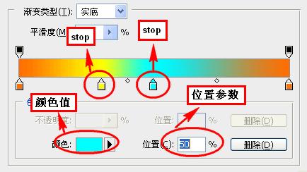 photoshop渐变的中间过渡点 张鑫旭-鑫空间-鑫生活